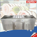 Hot sale Thailand fry ice cream roll machine low price snow ice machine