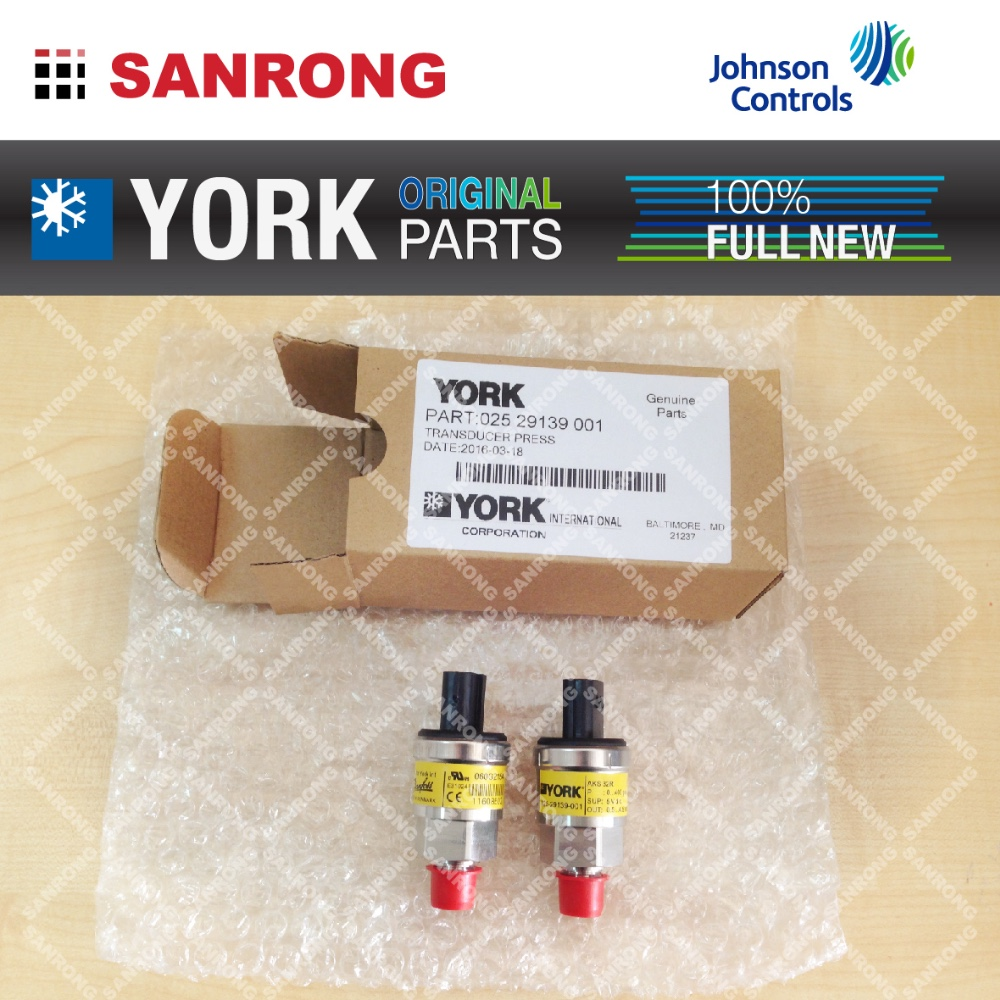 York Air Conditioner Spare Parts 025-29139-001 Pressure Transducer