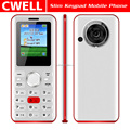 1.8 Inch Feature Phone Dual SIM Big Battery Keypad Mobile Phone FM Radio 0.08MP Back Camera