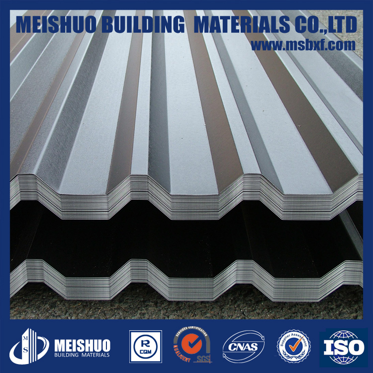 aluminum prepainted coiled corrugated sheet roofing materials