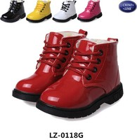 2015 New design kids ankle boots/high cut shoes/casual shoes for girl