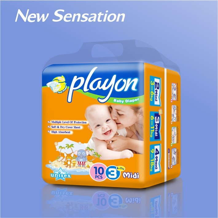 made in china wholesale PP tape bamboo diaper insert china guangzhou MB