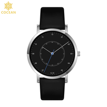 Luxury Watch Men Private Label Watches Stainless Steel Black Wristwatch