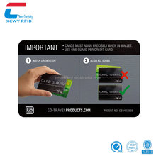 Security & Protection Credit Card Protector Rfid Blocking Sleeve Card