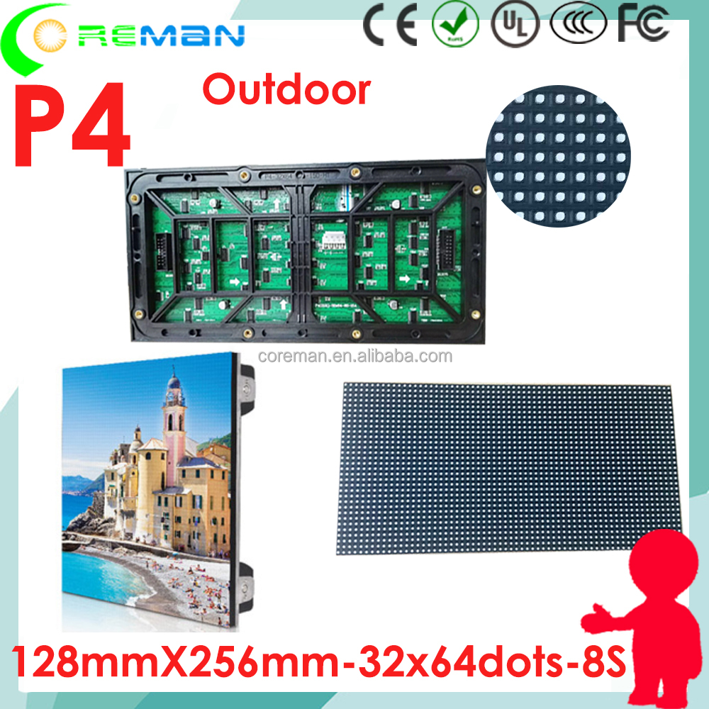 Second hand led display screen module p4 , used led screen outdoor , second hand outdoor led wall p2 p3 p4 p5