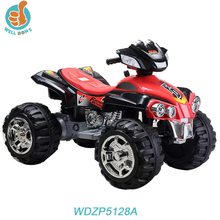 Popular electric car for kids to drive, with big wheel strong power toy quad, kids faverate toy for fun WD5128A