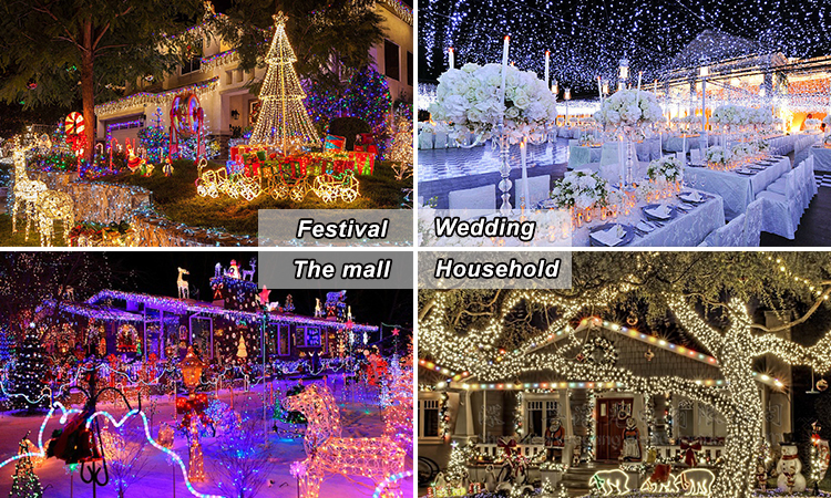 10M 33ft 100 Pcs Warm White LEDs Copper Wire 3AA Battery Powered Remote Control LED String Lights With Timer