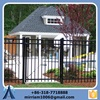 wrought iron fence designs/wrought iron garden wall fence/cast iron fence