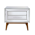 news antique Elegent modern gold mirrored chest of drawers