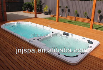 Swimming spa 6 person Dual zone endless swimming pool spa,exercise swim spa, spa pool JNJ SPA-8128
