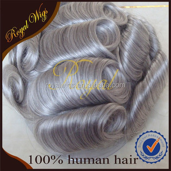Charming top quality with fashion design topper touppe hair human hair