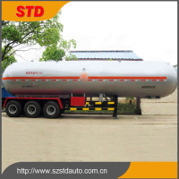 China Type 3 Axles LPG Tanker