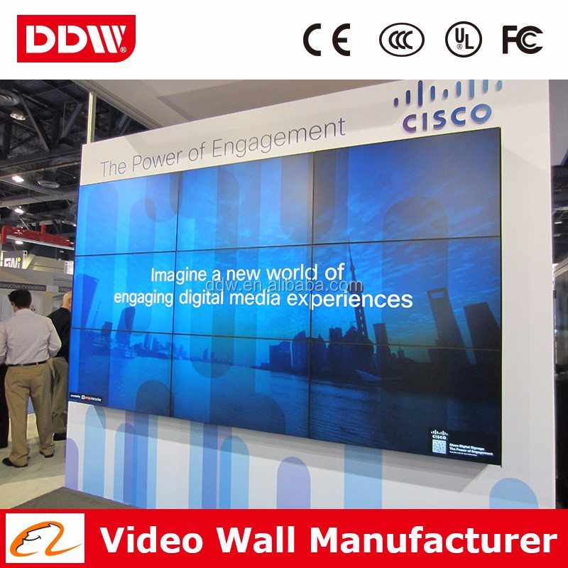 Factory drop shipping 47 inch LG 1920x1080 lcd tv wall for branding store DDW-LW4702