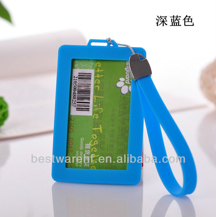 ewly Cute silicone rubber Card Case for bus pass