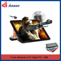 Hot Sale Android 4.1 Allwinner A13 Tablet PC 7 Inch