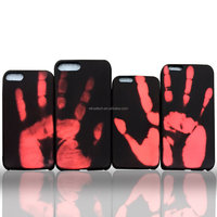 Hard PC Color Changing Phone Case for Iphone 6;Thermal Heat Induction Thermochromic Magical Color Changing Cell Phone Case