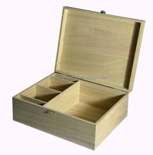 Factory Supply timber boxes, timber keepsake box, wooden toy box with lid wholesale