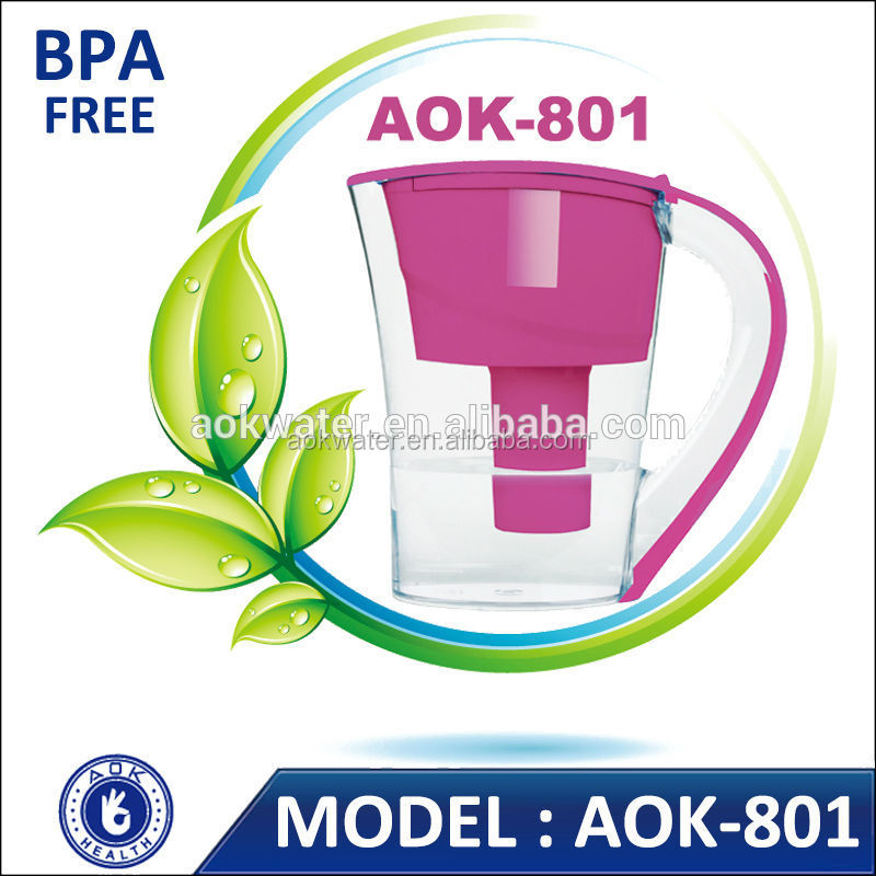 Silky-smooth taste Aok-801 Alkaline Water Filter Solutions