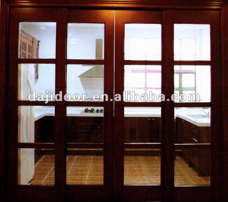 Solid Wood Masonite Interior Doors Design DJ-S434
