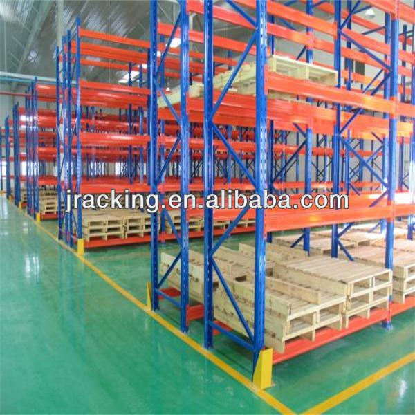 China Jracking storage gravity roller pallet rack guard