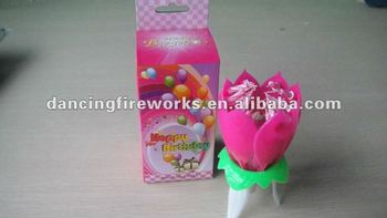 Happy Birthday Candle Toy Fireworks
