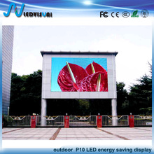 New outdoor fixed 60% energy saving P10 DIP RGB LED display screen