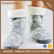 latest style indoor folding down boot winter snow boot