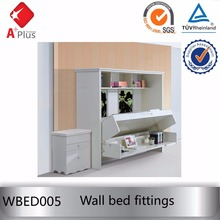 WBED005 space saving folding wall bed fittings