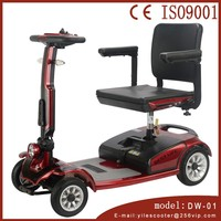 CE Lightweight Electric Mobility Travel Scooter for Elder, gugo 15w 150cc 3-wheel scooter with CE