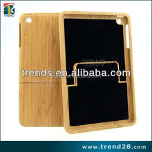 detachable applied real bamboo Wood case for Ipad mini