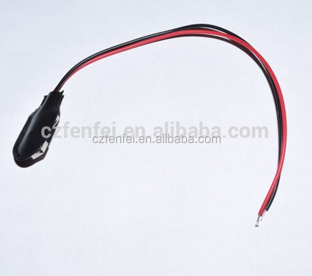 9V Volt Battery Snap Connector Clip with Lead Wire 15cm Cable