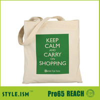 China wholesale canvas tote bag with gusset