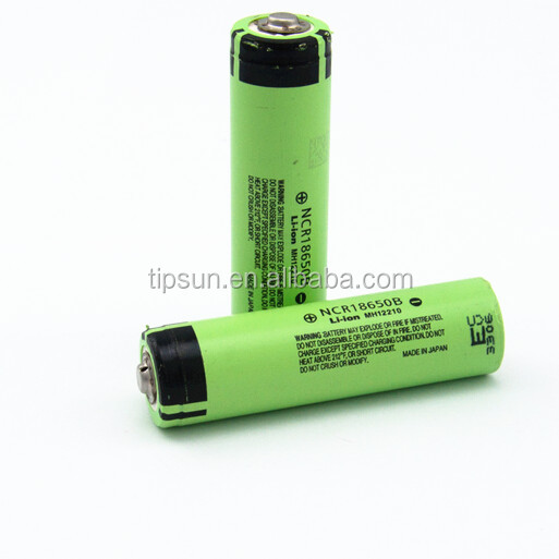 Available Stock 3400mAh NCR18650B 3.6V Li-ion 18650 Rechargeable Battery Made in Japan
