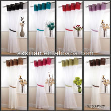 2013 latest designs voile Curtain