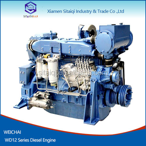 Weichai Hot selling Marine Diesel Engine WD12 220-294kW for Deutz