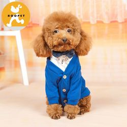 Basic multi-color pet shirt clothes and dog jacket