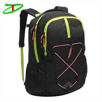 600D polyester fabrics personalized adult women's secret compartment backpack