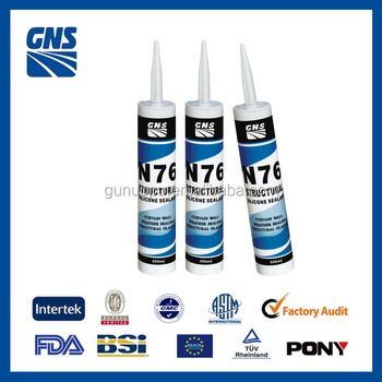 N76 structural heat resistant waterproof bulk silicone sealant
