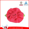 Colorful handmade diy satin ribbon rose flower for wedding packing