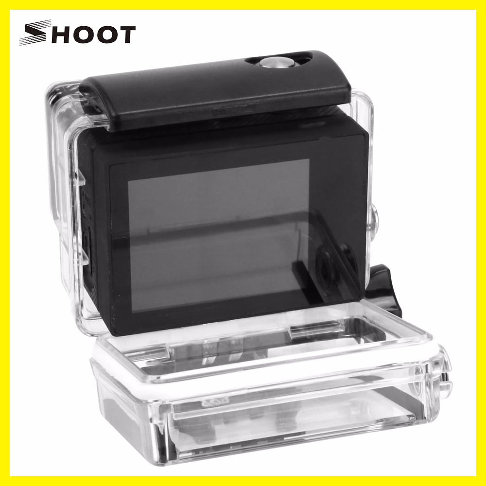 wholesale Lcd Version Backdoor for Gopros3+4 with button