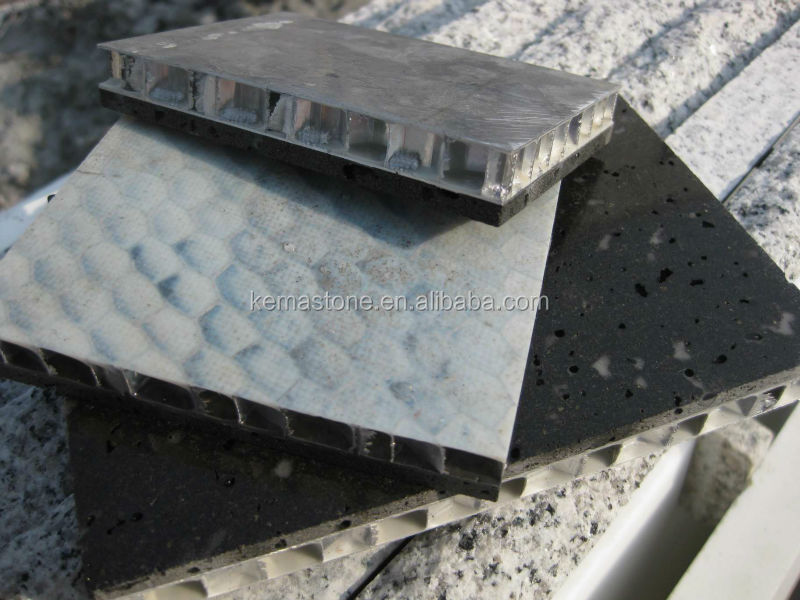 Natural Stone Fiberglass Aluminium Honeycomb Composite Panel