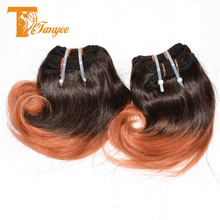 Wholesale Malaysian Colored Two Tone Hair Weave 6A Straight 1B/350 Mixed Color Remy Hair Extensions Color Remy Hair Extension