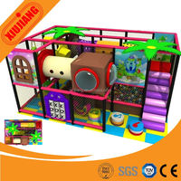 Hot selling !!!! Ocean Forest Candy theme Kids used small indoor playground equipment for sale
