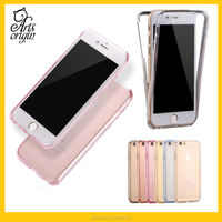 Case For iPhone 6 with Ultra thin Transparent black TPU cover full body protect your phone