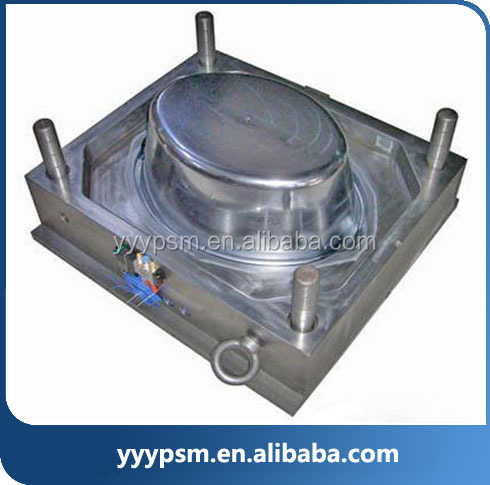 Outdoor Garden Flower Pot Mould / Molds Plastic Injection Moulding Process