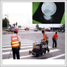 Highway reflective hot melting Safety Road Marking Glass Beads