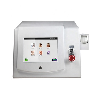 Female face hair removal and skin rejuvenation ipl opt shr machine