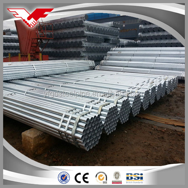 Round Section Shape and Non-secondary Secondary Or Not Astm a36 Hot Dip Galvanized Steel Pipe