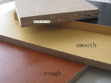 embossed/glossy/texture melamined particle board/chipboard for furniture