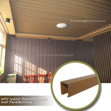Dcorative WPC PVC ceiling , cheap price and durable ceiling WPC PVC, Factory price decorative false ceiling design